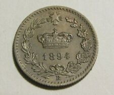 Italy 1894-KB 20 Centesimi Au Coin