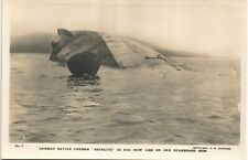 More details for scapa flow, orkney. scuttled german battle cruiser seydlitz # 7 by c.w.burrows.