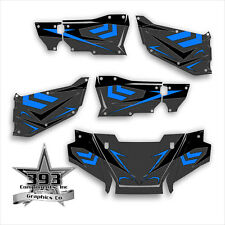 Honda Pioneer 1000-5 Limited Deluxe Arrow Carbon Wrap Graphics Decal 2016 - 2019