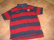 FC BARCELONA  MENS POLO SHIRT,SIZE L,G/C,DESIGNER SHIRT/TOP