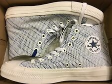 NEW CONVERSE ALLSTAR CT 2 II HI WHITE KNIT SNEAKER 151085C SIZE MEN 7 WOMEN 9