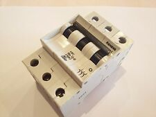 SIEMENS 5 SX1 NO 12-U 10 A 3 POLOS MAGNETOTERMICO CIRCUIT BREAKER