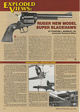 1996 ad 710 for Ruger New Model Super Blackhawk with Exploded View/ parts legend
