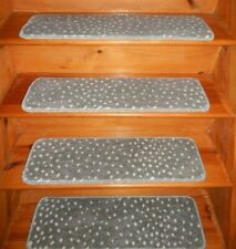 "13 Step  9"" x 30"" + 1 Landing 30"" x 30"" Stair Treads  100% Polypropylene Carpet"