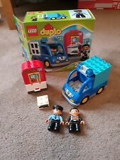 Duplo Police & Robber Set 10809 Complete in Box Christmas