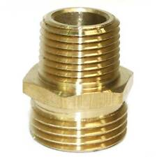 """3/4"""" GHT Male x 1/2"""" Male NPT Hose Fitting - FGM018"""