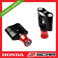 PONTET AVEC CONES ALU 22 2 SILENT BLOC HONDA CR CR-F CRF 125 250 450 CRF250 SCAR