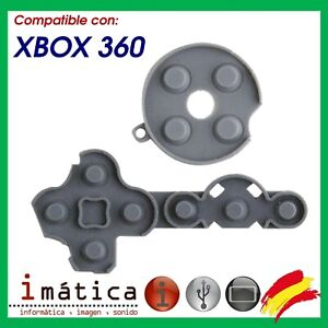 Rubber Of Contact Buttons For Xbox 360 Microsoft Crosshead Start Select Command