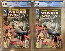 Wonder Woman #90. Regular & Rare DC Universe variant. Both CGC 9.8. 1st Artemis!