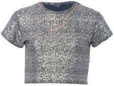 Camisetas y tops de niña de 2 a 16 años sin marca de poliéster