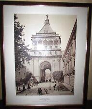 Foto di Alinari 63 x 53 cm Palermo porta nuova