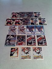 *****Tim Kerr*****  Lot of 100 cards.....21 DIFFERENT / Hockey