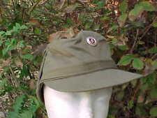Old Cold War era Communist East Germany D.D.R. Military Cloth Cap Hat / Size 57