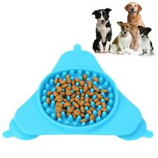 Puppy Pet Dog Slow Eating Bowl Preventing Choking Anti Slip Cat Feed Bowls GL