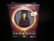 NEW Iron Man Blu-Ray 2Disc Sideshow Gift Set Best Buy Canada Exclusive Mini-Bust