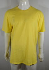 Volcom Men's T shirt XXL 100%Cotton Short Sleeve Yellow NWOT