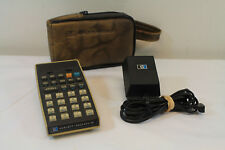 HP-25C RARE PROGRAMMABLE VINTAGE CALCULATOR WITH CASE AND CHARGER WORKS