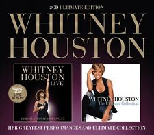 Whitney Houston Live: Greatest Performances/ Ultimate Collection 2-CD NEW SEALED