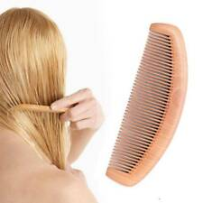 Natural Peach Wood Comb Anti-static Head Massage Hair Care Wooden Tools Beauty
