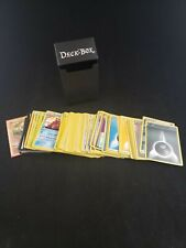 Ultra Pro Black Deck-Box With 137 Assorted Pokemon Cards lot