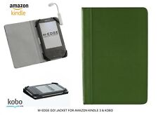 AMAZON KINDLE 3 & KOBO GO! JACKET IN GREEN M-EDGE HIGH QUALITY FREE DELIVERY