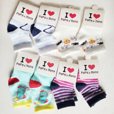Lot 5 Pairs Infant Baby Toddler BOY girl Socks Cotton 0~8 month NewBorn Kids