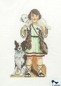 Labors of Love Nativity Shepard Boy Handpainted Needlepoint Canvas LL 422L