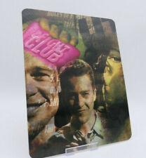 FIGHT CLUB - Lenticular 3D Flip Magnet Cover FOR bluray steelbook