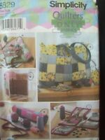 Simplicity Pattern Quilters Only Fabrics Sewing Accessories UC/FF New Old Stock
