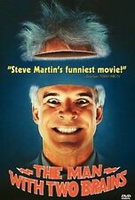 The Man With Two Brains (DVD, 1999) Comedy Carl Reiner STEVE MARTIN 90MINS NTSC