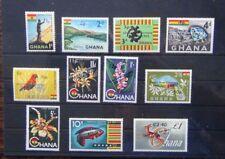 Ghana 1965 values to C2.40 on £1 MNH