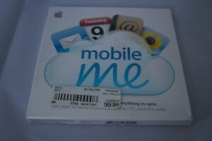 Apple MobileMe Individual MB824Z/A Mobile Me NEW SEALED