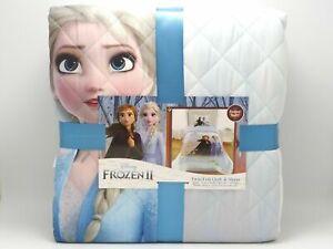 Frozen 2 Disney Twin/Full Quilt & Sham - NEW