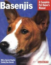 Basenjis (Barron's Complete Pet Owner's Manuals), Kenworthy, Mary Lou, Good Cond