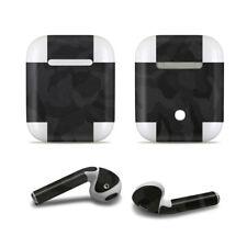 elperio Black Camo Skin Sticker Aufkleber für Apple AirPods Kopfhörer earpod