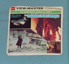 vintage Disney THE ISLAND AT THE TOP OF THE WORLD VIEW-MASTER REELS w/ booklet