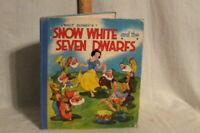WALT DISNEY'S SNOW WHITE and the SEVEN DWARFS  RARE 1937 DAVID McKAY 1ST EDITION