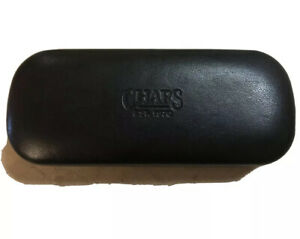 CHAPS EYEGLASSES Hard Case Clam Shell Pouch Eye Glasses Cover Travel Black