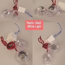 2pcs SUV Car White LED Strobe Bulb Light Emergency Warning Flash 12V Controller