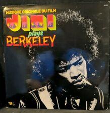 Jimi Hendrix Plays Berkeley French Barclay Vinyl LP Near Mint Great Sound