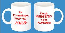 1x cerámica taza de café 300ml FOTO Deseada, regalo, foto, PUBLICIDAD, una