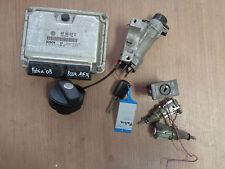 Skoda Fabia 5J 1,4 TDi (BNM) Steuergerät Motor 045906019CE Zündschloß 4B0905851C