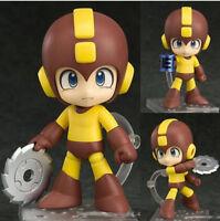 New Mega Man 4'' Rockman PVC Figure Toy Gift Nendoroid 556 B