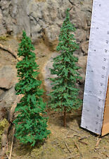 "MOOSE CREEK TREES - Fir Pine Trees (10 pc x 6"" Tall) Conifer Green HO N Z Scales"