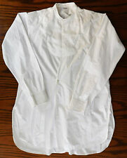 Vintage 1935 dress shirt 16 collar Robinson & Cleaver mens formal 1930s tunic