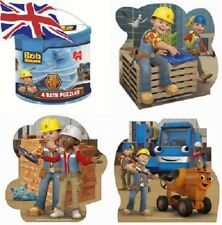 Bob THE Builder Bath Puzzles Set and Storage Bag Gift set