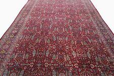 Fine Antique Tabriz Rug Persian Haji Jalili Incredible Red 9'x16' c.1890