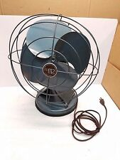 Vintage Mimar Products Electric Fan Model 412- 4 Blade 3 Speed Oscillating Fan