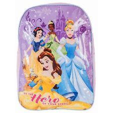 Disney Princess grande mochila escolar infantil Rosa morado