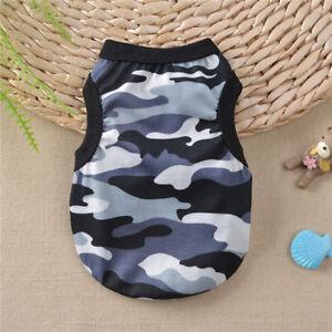 XS-XL Cotton Pet Clothes Shirt Dog T Shirt Cat Poodle Puppy yorkie Shirt Vest